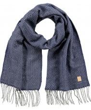 Barts 2918003 Para hombre Carson bufanda azul de Delft