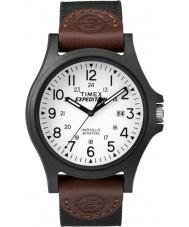 Timex TW4B08200 reloj correa de tela marrón para hombre de expedición