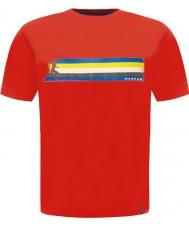 Dare2b DMT322-65770-L Mens multibanda de fuego camiseta roja - Talla L