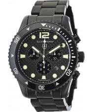 Elliot Brown 929-002-B03 Mens bloxworth reloj cronógrafo de fibra de carbono negro