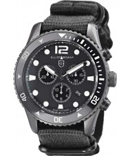 Elliot Brown 929-001-N02 Para hombre reloj cronógrafo bloxworth correa de tela negro