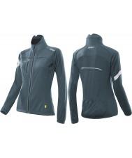 2XU WC2452A-TTL-S sub damas verde azulado tecnología cero 360 chaqueta de ciclo - tamaño s