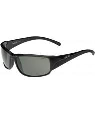 Bolle Keelback brillantes negras gafas de sol polarizadas tns
