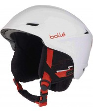 Bolle 30644 Casco de esquí blanco suave y agudo - 58-61cm