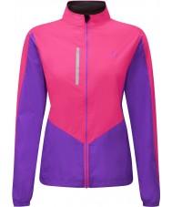 Ronhill RH-001473RH00179-12 Chaqueta para mujer vizion fluo rosa lila windlite - el tamaño de uk 12 (m)
