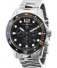 Elliot Brown 929-005-B01 Mens bloxworth reloj cronógrafo de acero de plata