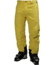 Helly Hansen Mens legendarios pantalones de esquí amarillo