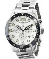 Elliot Brown 929-007-R01 Mens bloxworth reloj cronógrafo de acero de plata