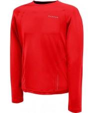 Dare2b DMT125-65740-XS Mens relé de fuego camiseta de manga larga de color rojo - el tamaño de xs