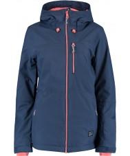 Oneill 655032-5032-L Damas solas noches chaqueta azul - Talla L