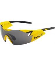 Bolle 6th Sense brillantes gafas de sol del arma tns negro amarillo
