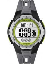 Timex TW5M06700 Reloj para hombre correa de resina negro maratón