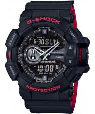 Casio GA-400HR-1AER Mens g-shock tiempo del mundo reloj negro combi