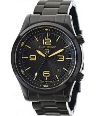 Elliot Brown 202-002-B04 Mens CANFORD negro reloj de pulsera de acero ip