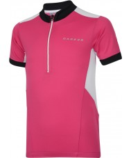 Dare2b Camiseta caliente rosada eléctrica del jersey de hotfoot