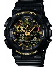 Casio GA-100CF-1A9ER reloj cronógrafo para hombre negro g-shock