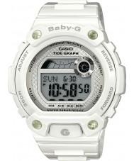 Casio BLX-100-7ER Señoras baby-g gráfico de mareas reloj blanco