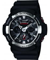 Casio GA-200-1AER reloj cronógrafo para hombre negro g-shock tiempo del mundo