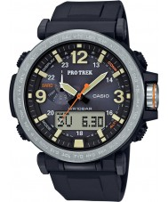 Casio PRG-600-1ER Mens Pro Trek solar alimenta el reloj digital negro