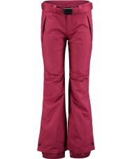 Oneill 658018-3049-XL Señoras pasión estrella de los pantalones de esquí de color rojo - el tamaño de xl