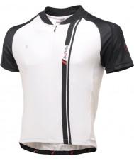 Dare2b DMT093-7P570-L Mens AEP blanco y negro camiseta de manga corta camiseta de la parte superior - Talla L
