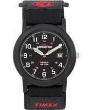 Timex T40011 Reloj para hombre expedición campista negro