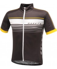Dare2b DMT133-80040-XS Para hombre de temple jersey negro camiseta - el tamaño de xs