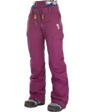 Picture WPT046-BURGU-M Pantalones de esquí treva para mujer