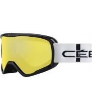 Cebe CBG50 El delantero l cuadros anaranjado - gafas de esquí espejo de destello naranja