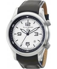 Elliot Brown 202-005-L02 Mens CANFORD reloj de la correa de cuero negro