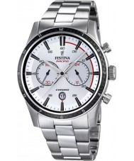 Festina F16818-1 Tour para hombre de Gran Bretaña 2015, todos los reloj cronógrafo de plata