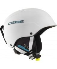 Cebe CBH174 casco azul de esquí blanco mate concurso - 62-64cm