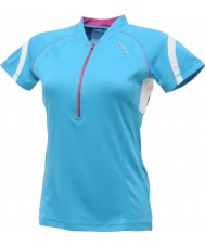Dare2b DWT078-3FN12L Las señoras refrescan Jersey azul camiseta - tamaño s (12)