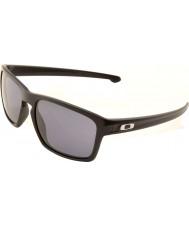 Oakley Oo9262-01 mate negro astilla - gafas de sol grises