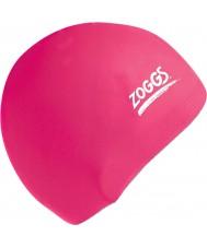 Zoggs 300604-PNK tapa de silicona de color rosa