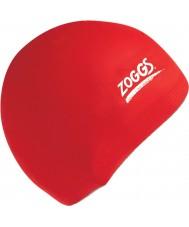 Zoggs 300604-RED casquillo de silicona roja