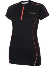 Dare2b DWT148-80008L Las señoras se deleitan negro camiseta - XXS tamaño (8)