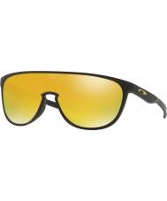 Oakley trillbe Oo9318-06 negro mate - gafas de sol de iridio 24k