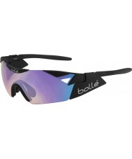 Bolle 6 ° sentido s gafas de sol negro mate azul-violeta