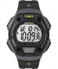 Timex TW5M09500 Reloj para hombre correa de resina negro ironman