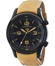 Elliot Brown 202-008-L04 Mens CANFORD reloj de la correa de cuero marrón