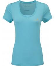 Ronhill RH-002263Rh-00255-16 Damas zancadas celo ss camiseta