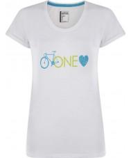Dare2b Señoras una camiseta del blanco del amor
