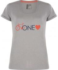 Dare2b DWT319-81I16L Señoras de un amor ceniza gris marga camiseta - el tamaño de uk 16 (XL)