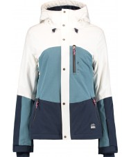 Oneill Chaqueta coral mujer