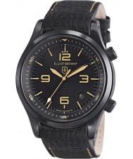 Elliot Brown 202-008-L11 Mens CANFORD reloj de la correa de cuero negro