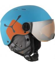 Cebe CBH209 casco de esquí azul naranja jr bola de fuego - 49-54cm