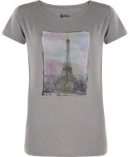 Dare2b Señoras torre encima de ceniza gris marl camiseta