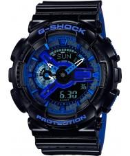 Casio GA-110LPA-1AER Mens g-shock tiempo del mundo reloj de la correa de resina azul negro