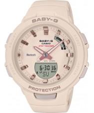 Casio BSA-B100-4A1ER Ladies baby-g smartwatch